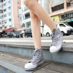 Buy 'SO Central – Lace-Up Platform Sneakers' at YesStyle.com plus more Hong Kong items and get Free International Shipping on qualifying orders.