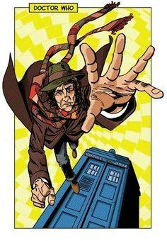 DOCTOR 4 TOM BAKER