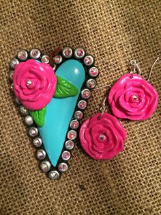 Embellish Me by DCG - Facebook  Clay jewelry, hand crafted, Texas made!