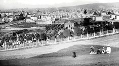 Jewish Cemeteries 1880 Enjoying The Sun, Interesting History, Jpg, Golden Gate, Bay Area, Cemetery, Dolores Park, San Francisco, California