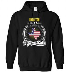 Born in ANGLETON-TEXAS V01 - #shirt fashion #loose tee. ORDER NOW => https://www.sunfrog.com/States/Born-in-ANGLETON-TEXAS-V01-8306-Black-Hoodie.html?68278