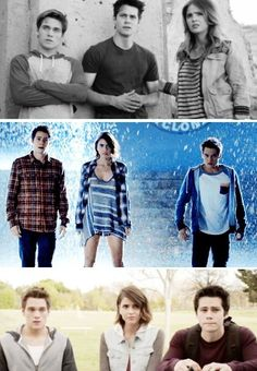 Teen Wolf - Liam, Stiles, and Malia/ Team we are hot and we DON'T know it..... Yet