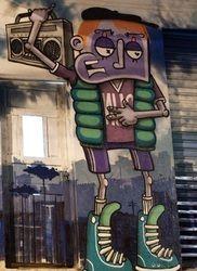 Sao Paulo Graffiti urbano cultura street art - Tan Bajo SP