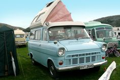 A classic Ford Transit converted into a campervan. Photo by Terry Whalebone Class C Rv, Rv Financing, Class A Motorhomes, Small Trailer, Living On The Road, Old Fords, Vintage Vans, Volkswagen Bus, Ford Transit