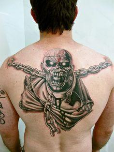 iron maiden eddie piece of mind tattoos - Google Search