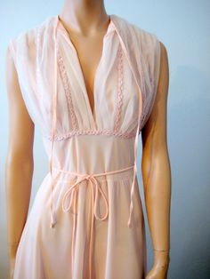 vintage nightgown, 1960's