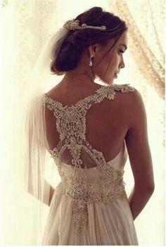 Beautiful back design