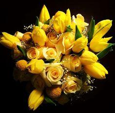 Yellow Bouquet #springwedding