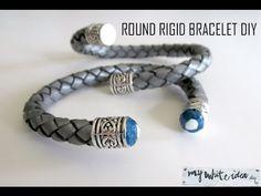 ROUND RIGID BRACELET DIY - YouTube
