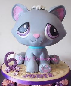 Littlest Pet Shop Cake. This would be perfect, just impossible.
