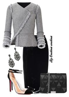 """""""EVE"""" by evelina-er on Polyvore featuring Roland Mouret and Christian Louboutin"""