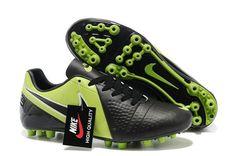 newest 80202 f42f3 Nike C LUO 9 Grønn Svart Fotball Støvler Nike Soccer Shoes, Nike Football  Boots,