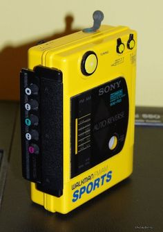 Vintage Sony Walkman FM/AM Sports Cassette by AltmodischVintage, $30.00