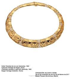 """Bulgari y Roma"" en el Museo Thyssen-Bornemisza"