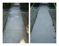 Is your concrete looking dirty, stained, warn out or old? We offer you special concrete coatings which will make your concrete durable, long- lasting and attractive Spalling Concrete, Concrete Resurfacing, Concrete Coatings, Concrete Crafts, Concrete Projects, Wet And Dry, Backyard, Patio, Walkways