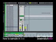 how to sample in ableton live , basics video tutorial