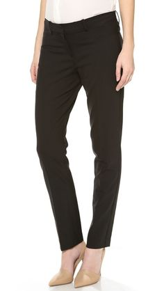 perfect maternity pants for work. Stylish indeed.