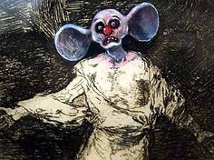 Works by the enfants terribles of Britart form part of Spanish exhibition exploring enduring influence of Francisco de Goya New Media Art, New Art, Jake And Dinos Chapman, Appropriation Art, Velvet Painting, Internet Art, Macabre Art, Collage Illustration, Cartoon Faces