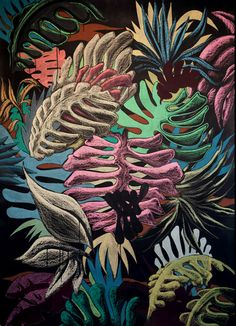 Julien Colombier: inspirational jungle patterns