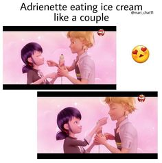 Marinette needs to get her imagination in check lololol but I'm proud of my girl for talking to Adrien at least at the end of the episode