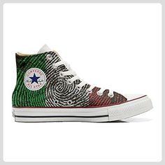 Converse Custom - personalisierte Schuhe (Handwerk Produkt) Autumn Forest  39 EU