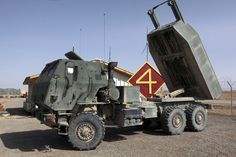 Picture of the M142 High Mobility Artillery Rocket System The M142 HIMARS is a lightweight, wheeled variant of the M270 MLRS tracked vehicle rocket launching system. (HIMARS)