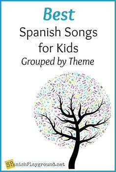 Spanish songs for kids grouped by theme and perfect for classroom or home. Songs in Spanish for children teach vocabulary, language structures and culture. Spanish Classroom Activities, Preschool Spanish, Spanish Teaching Resources, Elementary Spanish Classroom, Vocabulary Activities, Spanish Lessons For Kids, Spanish Basics, Spanish Lesson Plans, French Lessons