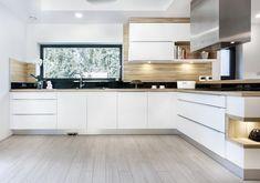Kitchen Cabinet and Countertop Ideas . Best Of Kitchen Cabinet and Countertop Ideas . White Kitchen Cabinets, Kitchen Reno, New Kitchen, Kitchen Dining, Interior Concept, Grey Kitchens, Modern Kitchen Design, Countertops, House Design