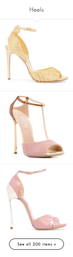 """""""Heels"""" by sailorjerri ❤ liked on Polyvore featuring shoes, sandals, heels, grey, grey heeled sandals, peep toe heeled sandals, open toe sandals, heeled sandals, heels stilettos and casadei"""
