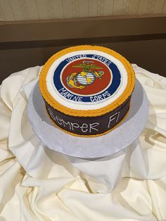 Groom's cake for your Marine