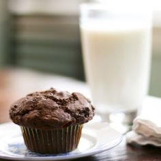 Snow Day Chocolate Muffins