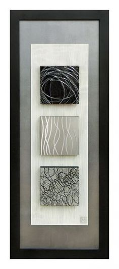 Double matted in a rectangular frame, this contemporary wall art style features an intriguing abstract theme. Vertical-oriented contemporary framed wall art by artist Manuela Jarry. Art Diy, Diy Wall Art, Metal Wall Art, Framed Wall Art, Wood Art, Canvas Wall Art, Wall Décor, Art Encadrée, Glue Art
