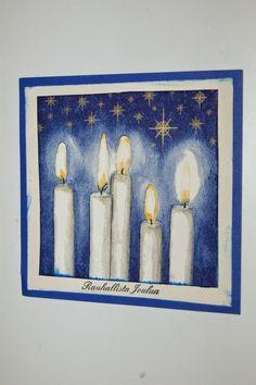 Kuvahaun tulos haulle itsenäisyyspäivä askartelu Christmas Diy, Christmas Cards, Finland, Art Ideas, Painting, Xmas Greeting Cards, Painting Art, Xmas Cards, Christmas Letters