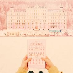 The Grand Budapest Hotel - I've never been so utterly in love with a movie. It's a frame by frame perfection.
