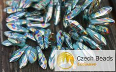 ✔ What's Hot Today: Opaque Shiny Peacock Turquoise Czech Glass Dagger Beads Leaf 16mm x 5mm 30pcs https://czechbeadsexclusive.com/product/opaque-shiny-peacock-turquoise-dagger-beads-czech-glass-dagger-beads-czech-glass-turquoise-glass-leaf-bead-czech-leaf-bead-16mm-x-5mm-24pc/?utm_source=PN&utm_medium=czechbeads&utm_campaign=SNAP #CzechBeadsExclusive #czechbeads #glassbeads #bead #beaded #beading #beadedjewelry #handmade