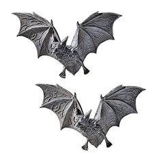 Design Toscano The Vampire Bats of Castle Barbarosa Wall Sculptures - Set of 2 - Cool Kitchen Gifts