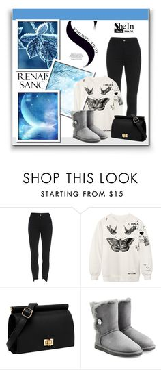 """""""..."""" by aminkicakloko ❤ liked on Polyvore featuring Disney and UGG Australia"""