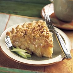 Cinnamon Crumble Apple Pie Recipe | Epicurious