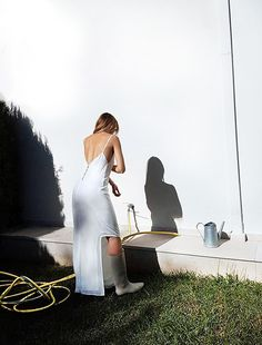 #karakusi silk white dress .#summer #collection #ss17 #preorder