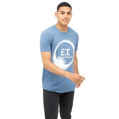 E.T Mens - Eclipse - T-shirt - Indigo - XX-Large