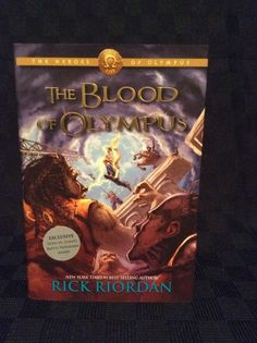 New Rick Riordan The Blood Of Olympus Book 5 Hardcover Book Read
