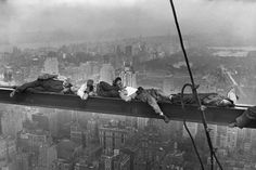 29 Jaw-Dropping Photos Of Ironworkers During Work