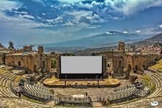 Greco Romano Teatro, Taormina, Sicily