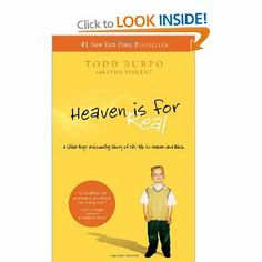 True account of a child and his near death experience in heaven- quick, thoughtful read