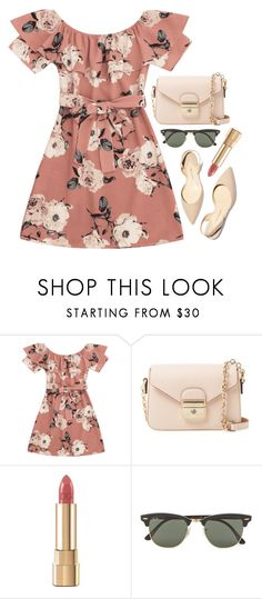 """""""la femme"""" by emilypondng ❤ liked on Polyvore featuring Paul Andrew, Longchamp, Dolce&Gabbana and Ray-Ban"""