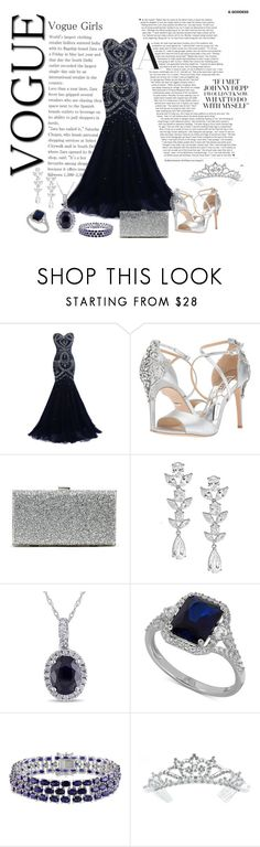 """Phantom of the Opera #02"" by adelinejaned on Polyvore featuring Badgley Mischka, Sole Society, Saks Fifth Avenue, Miadora, Amour and Kate Marie"