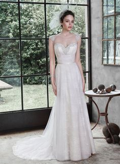 Bridal Gown Available at Ella Park Bridal | Newburgh, IN | 812.853.1800 | Maggie Sottero - Style Alanis