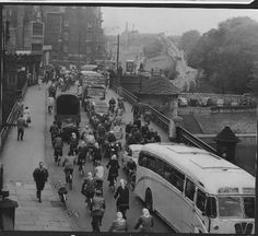 MORE ADDED: 157 photos of 1960s York (From York Press) Lendal Bridge.