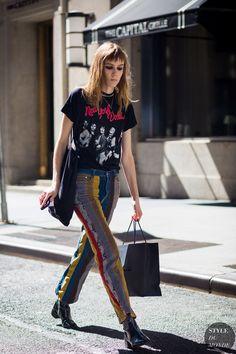 Kiki Willems Street Style Street Fashion Streetsnaps by STYLEDUMONDE Street Style Fashion Photography