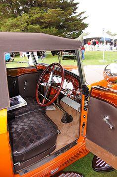 1930 Bugatti Type 46 Deer skin interior